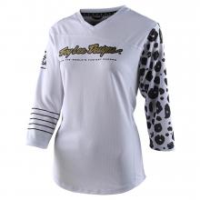 Women's Mischief Jersey Leopard White