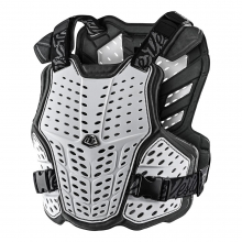Rockfight Chest Protector White by Troy Lee Designs