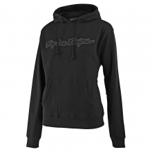 Women's Signature Pullover Black by Troy Lee Designs