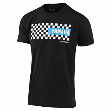 Kids Tld Yamaha Checkers Tee by Troy Lee Designs in Chelan WA