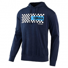 Men's Tld Yamaha Checkers Pullover Hoodie by Troy Lee Designs in Chelan WA