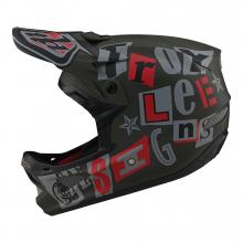 Unisex D3 Fiberlite Helmet by Troy Lee Designs in Arcata CA