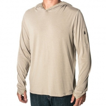 Men's Bamboo Midweight Hoody by Free Fly Apparel in Victor Id