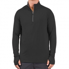 Men's Bamboo Midweight Quarter Zip by Free Fly Apparel in Atlanta Ga