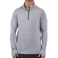 Men's Bamboo Midweight Quarter Zip by Free Fly Apparel in Athens Ga