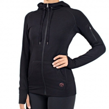 Women's Bamboo Full Zip Hoody by Free Fly Apparel in Victor Id