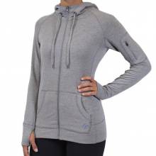 Women's Bamboo Full Zip Hoody by Free Fly Apparel in Asheville Nc