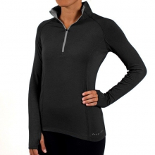 Women's Bamboo Midweight Quarter Zip by Free Fly Apparel in Athens Ga