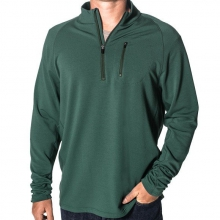 Men's Bamboo Fleece Quarter Zip by Free Fly Apparel in Victor Id
