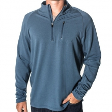 Men's Bamboo Fleece Quarter Zip by Free Fly Apparel in Sioux Falls SD