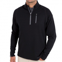 Men's Bamboo Fleece Quarter Zip by Free Fly Apparel in Asheville Nc