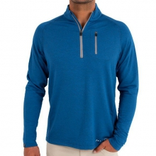Men's Bamboo Fleece Quarter Zip by Free Fly Apparel in Mobile Al