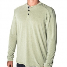 Men's Bamboo Henley by Free Fly Apparel in Victor Id