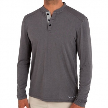 Men's Bamboo Henley by Free Fly Apparel in Bentonville Ar