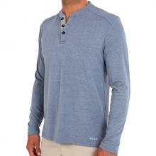 Men's Bamboo Henley by Free Fly Apparel in Asheville Nc