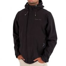 Men's Bamboo-Lined Crossover Jacket by Free Fly Apparel in Victor Id
