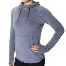 Women's Bamboo Fleece Pullover by Free Fly Apparel in Victor Id