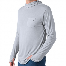 Men's Bamboo Lightweight Hoody by Free Fly Apparel in Charleston Sc