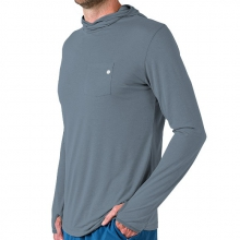 Men's Bamboo Lightweight Hoody by Free Fly Apparel in Shreveport La