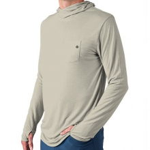 Men's Bamboo Lightweight Hoody by Free Fly Apparel in Victor Id
