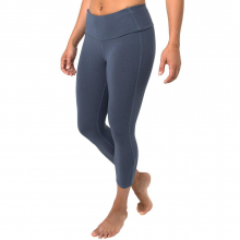 Women's Bamboo Cropped Tights by Free Fly Apparel in Sioux Falls SD