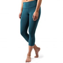Women's Bamboo Cropped Tights by Free Fly Apparel in Florence Al