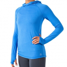 Women's Bamboo Shade Hoody by Free Fly Apparel in Victor Id