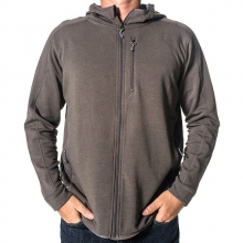 Men's Bamboo Thermal Fleece Zip Hoody by Free Fly Apparel in Florence Al
