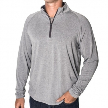 Men's Bamboo Flex Quarter Zip by Free Fly Apparel in Victor Id