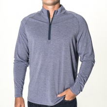 Men's Bamboo Flex Quarter Zip by Free Fly Apparel in Sioux Falls SD