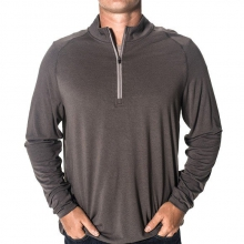 Men's Bamboo Flex Quarter Zip by Free Fly Apparel in Rogers Ar