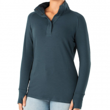 Women's Bamboo Thermal Fleece Pullover by Free Fly Apparel