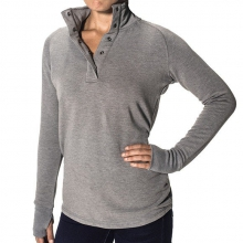 Women's Bamboo Thermal Fleece Pullover by Free Fly Apparel in Bentonville Ar