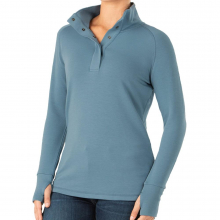 Women's Bamboo Thermal Fleece Pullover by Free Fly Apparel in Sioux Falls SD