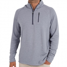 Men's Bamboo Fleece Quarter Zip by Free Fly Apparel in Leeds Al