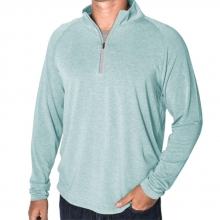 Men's Bamboo Flex Quarter Zip by Free Fly Apparel in Florence Al