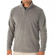Men's Bamboo Polar Fleece Snap Pullover by Free Fly Apparel in Sioux Falls SD