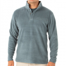 Men's Bamboo Polar Fleece Snap Pullover by Free Fly Apparel in Fort Smith Ar