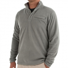 Men's Bamboo Polar Fleece Snap Pullover