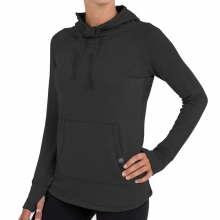 Women's Bamboo Fleece Pullover Hoody by Free Fly Apparel in Mobile Al