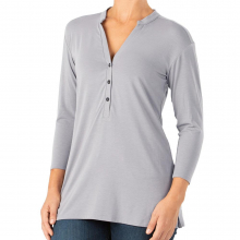 Women's Bamboo Flex Henley by Free Fly Apparel