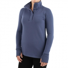 Women's Bamboo Thermal Fleece Pullover by Free Fly Apparel in Mobile Al