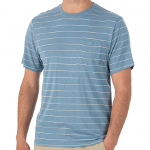 Men's Bamboo Channel Pocket Tee by Free Fly Apparel in Huntsville Al