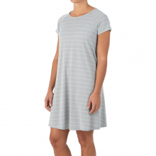 Women's Bamboo Dockside Dress by Free Fly Apparel in Huntsville Al