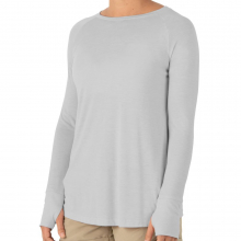 Women's Bamboo Weekender Long Sleeve by Free Fly Apparel in Woodland Hills CA