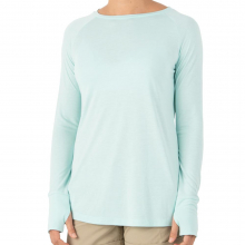 Women's Bamboo Weekender Long Sleeve by Free Fly Apparel in Sioux Falls SD