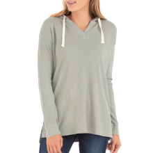 Women's Bamboo Waffle Hoody by Free Fly Apparel