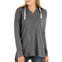 Women's Bamboo Waffle Hoody by Free Fly Apparel in Squamish BC