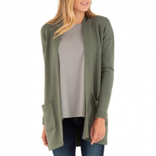 Women's Thermal Fleece Cardigan by Free Fly Apparel in Sioux Falls SD