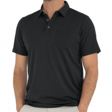 Men's Bamboo Heritage Polo by Free Fly Apparel in Squamish BC